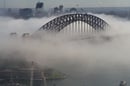 Sydney Harbour Bridge in the cloud