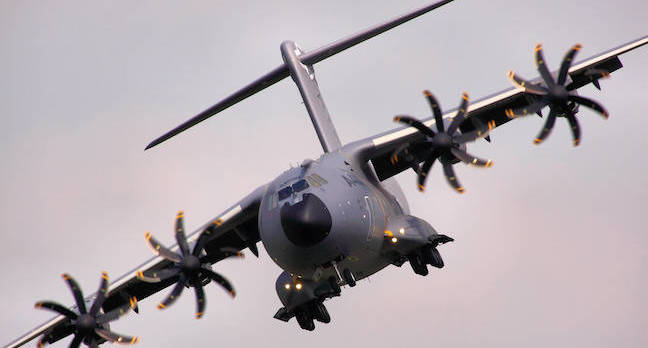 A400M Atlas - RIAT 2013 by https://www.flickr.com/photos/24874528@N04/ cc 2.0 attribution sharealike https://creativecommons.org/licenses/by-sa/2.0/