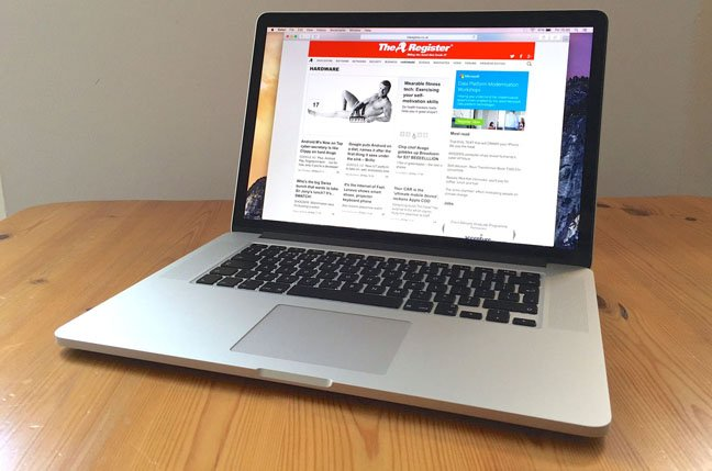 force touch tweak apple 15 inch macbook pro with retina display rh theregister co uk user manual macbook pro 13 retina 15 Inch MacBook Pro Retina