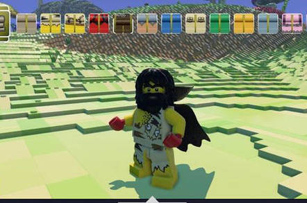 New kid on the blocks: Lego Worlds game challenges Minecraft • The