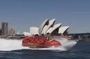 Jet boat on sydney harbour