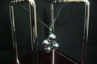 Newton's Cradle with balls tangled