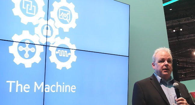 HP's Martin Fink talks up the Machine