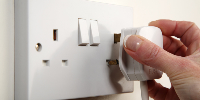 Plug, image via Shutterstock