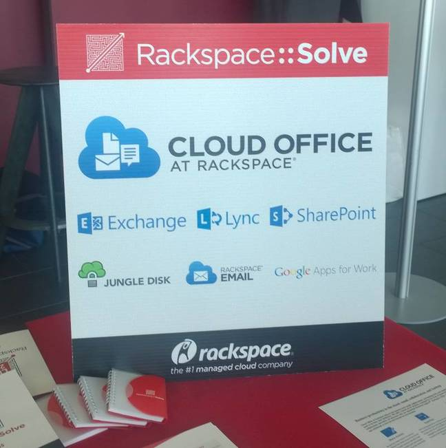 Rackspace will manage Microsoft or Google cloud applications for you