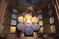 Artist Impression of Giant Magellan Telescope