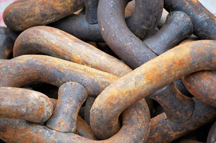 Chains image via Shutterstock