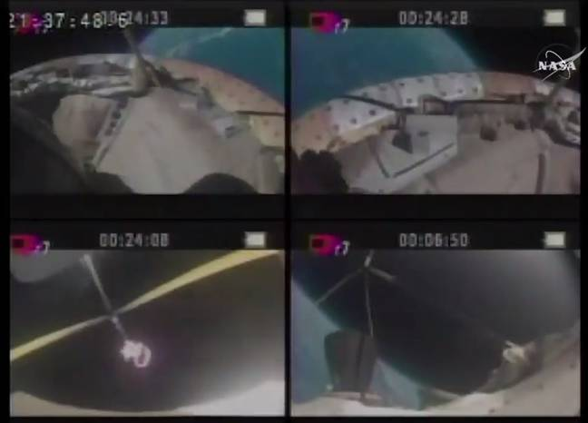 LDSD parachute fails to open