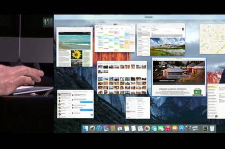 WWDC demo of El Capitan