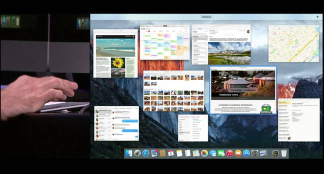 WWDC demo of El Capitan
