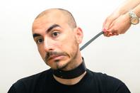 Bondage man image via Shutterstock