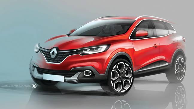 Renault Kadjar La Regie S New Full Sized Inexplicably Named Suv