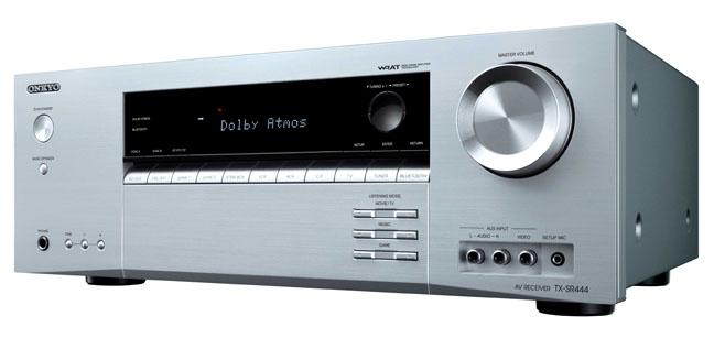 Onkyo TX-SR444 Dolby Atmos AV receiver