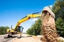 Digger image via Shutterstock