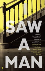 Owen Sheers, I Saw A Man book cover