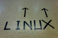 This way to linux by https://www.flickr.com/photos/pfh/ cc 2.0 attribution https://creativecommons.org/licenses/by/2.0/