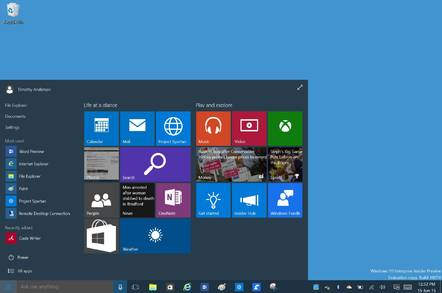 Windows 10 on Surface 3