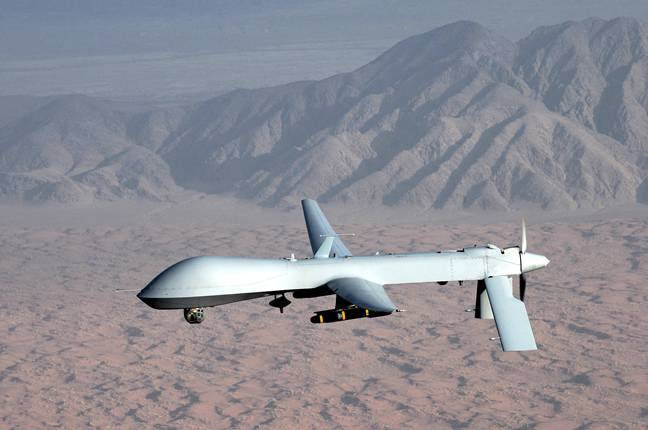 Uncle Sam is asking Americans if they could refrain from slapping guns on their drones