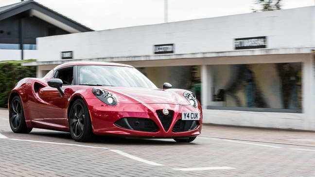 The 4C is truly head-turning