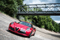 The Alfa 4C needs a small number plate