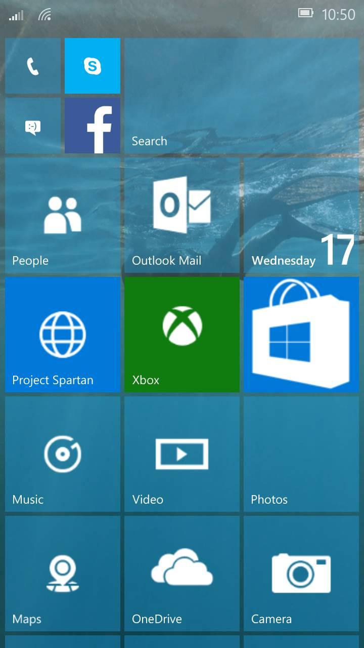 Feature Rich Work In Progress Windows Mobile 10 Build