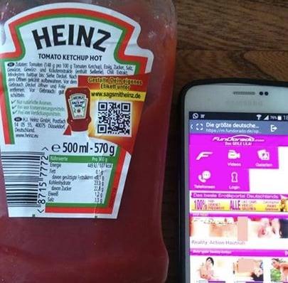 Heinz QR code SNAFU