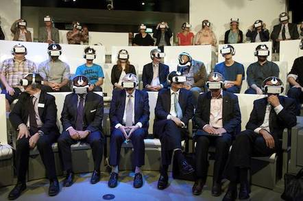 NHM VR Experience audience