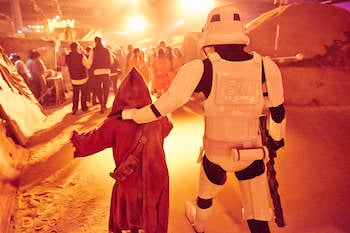 Storm Trooper at Secret Cinema's Empire Strikes Back screening. Image credit: Paul Cochrane