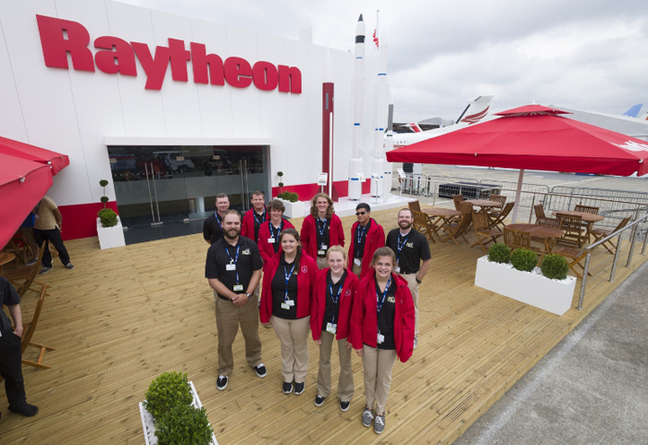 RSC Engineers team in Paris. Pic: Alex MacNaughton/Raytheon