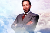 larry ellison in the cloud