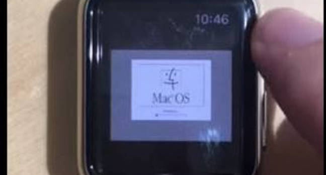 Apple Watch running MacOS 7.5.5