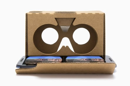 Google's Cardboard cutout VR headgear given away GRATIS by OnePlus