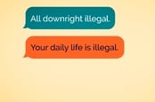 Downright illegal