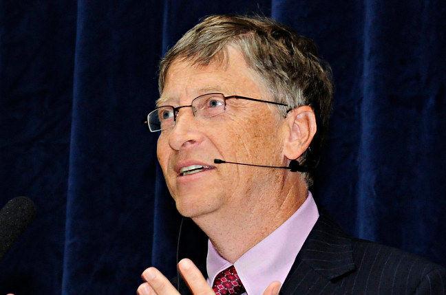 Bill Gates. Pic: DfID