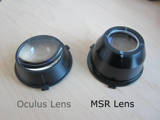 The two lenses side-by-side
