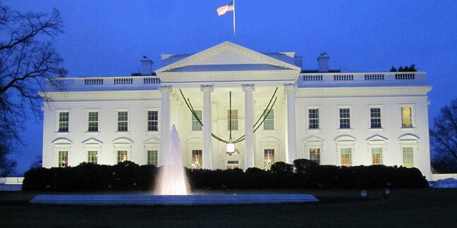 White House, by Tom Lohdan, Flickr, CC2.0