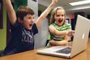excited CHILDREN