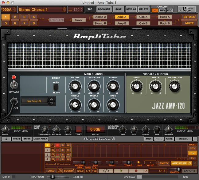 IK Multimedia AmpliTube for desktop