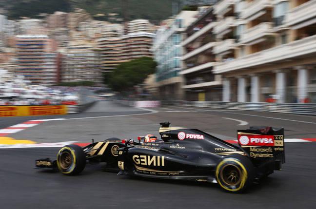 Lotus F1 at Monaco