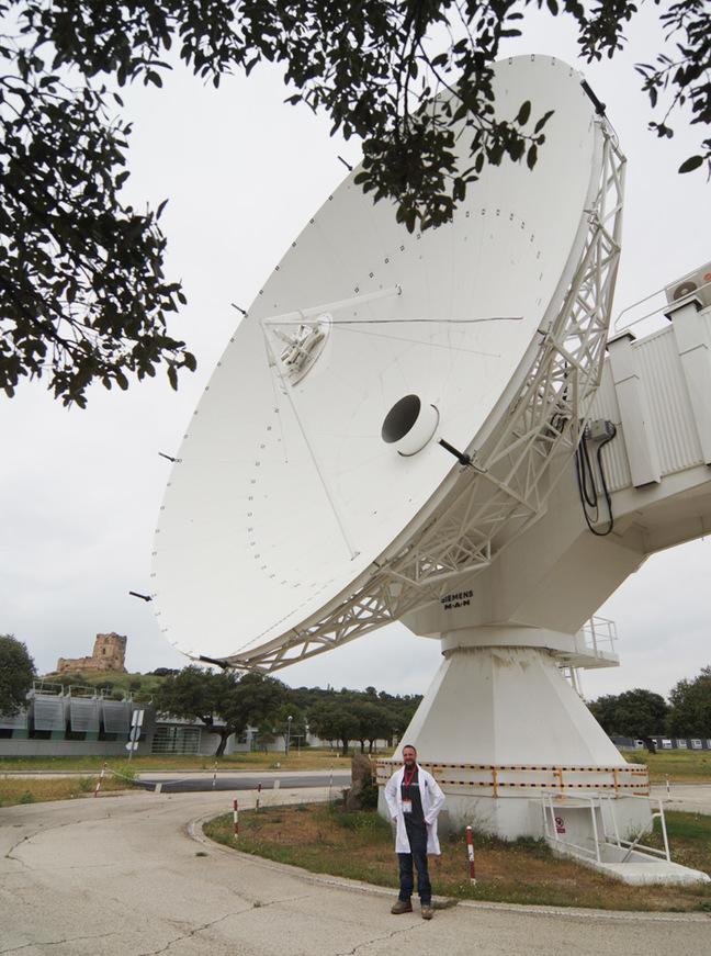 A big antenna at ESA