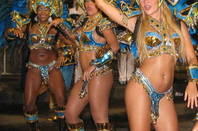 Carnival dancers in Brazil
