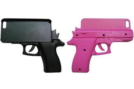 iPhone pistol case