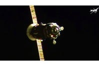 Progress 60 approaching the ISS