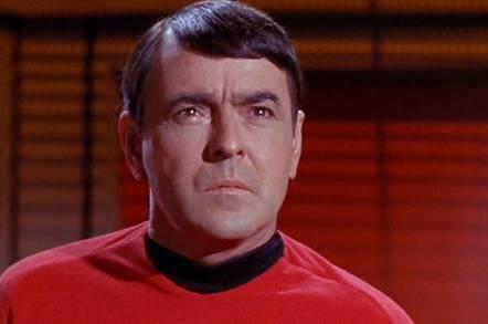 Scotty in the original Star Trek
