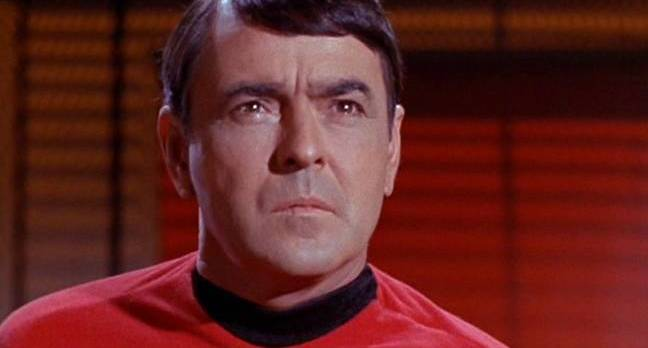 Scotty in the original Star Trek