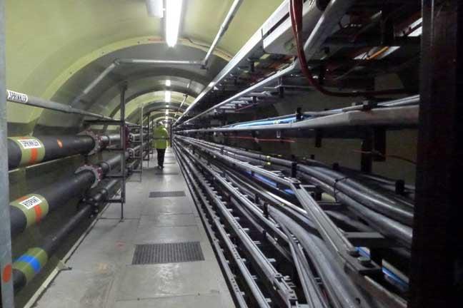 Thames Barrier access tunnel, photo2: Gavin Clarke
