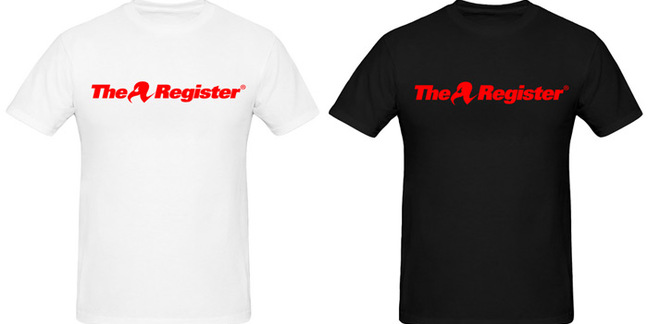 The two flavours of Reg Classic T-shirt