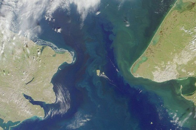 Behring Strait. Pic: US government/NASA