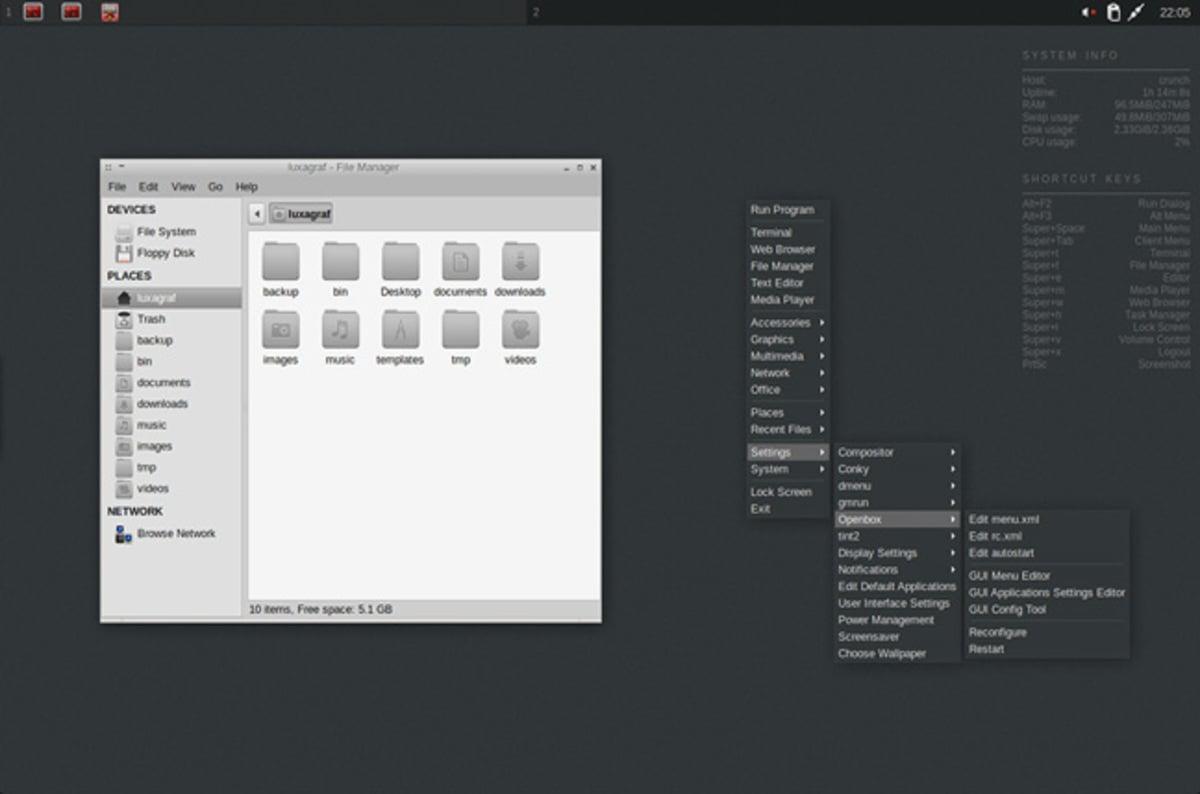 five lightweight linux desktop worlds for extreme open sourcers the register. Black Bedroom Furniture Sets. Home Design Ideas