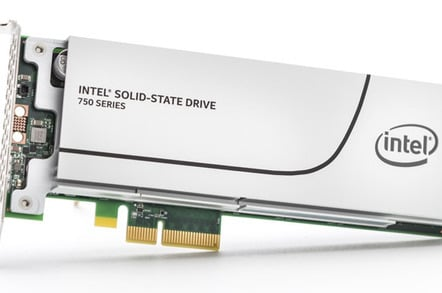 Intel SSD 750: NVM Express with U.2 compatible connector